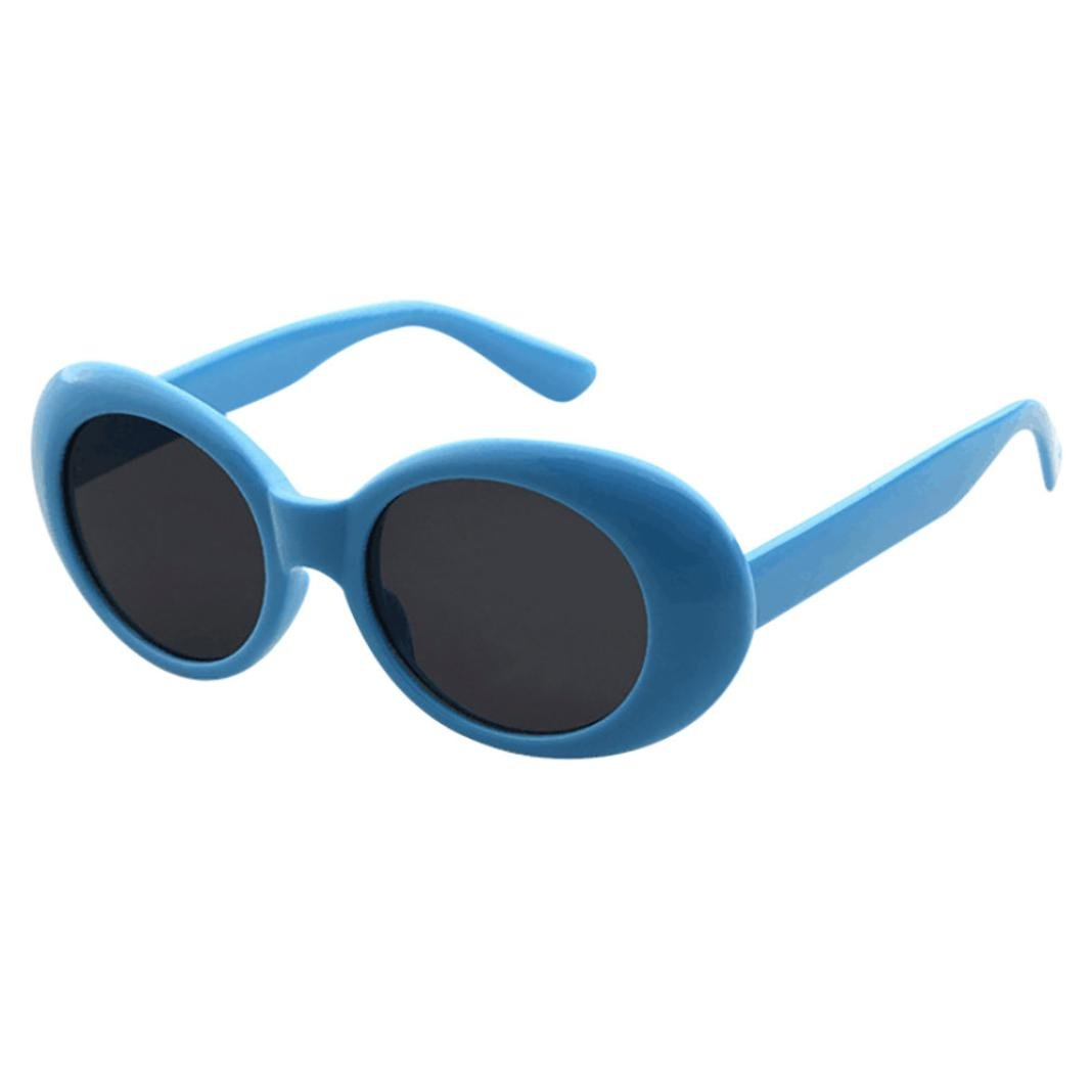 2c3f92172fe0 JACKY-Store Women s Retro Vintage Clout Goggles Unisex Sunglasses Rapper  Oval Shades Grunge Glasses sunglasses Man Polarised UV Sunglasses Women Ray  Ban