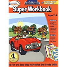 Hooked on Phonics 2nd Grade Super Workbook (Hooked on Phonics (Paperback))