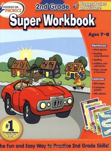 Hooked on Phonics 2nd Grade Super Workbook (Hooked on Phonics (Paperback))