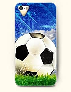 OOFIT Phone Case design with Soccer and Blue Sky-Best Time to Exercise for Apple iPhone 5 5s 5g