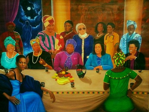 Kolongi Brathwaite Sisters in Conference II (A Meeting of the Minds)