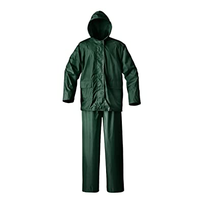 Raider Simplex Rainsuit (Green, Medium): Automotive