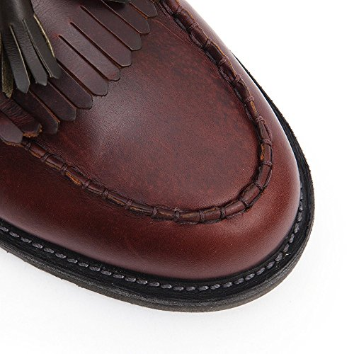 Dr.Martens Leroy Dark Brown Mens Shoes Dark Brown