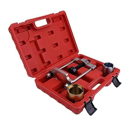 1 juego de herramientas de reparación de coches traseras de suspensión de bujías herramienta de extracción