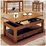 Amazoncom Storage And Lift Coffee Tables  Tables Home  Kitchen - Lift top coffee table with storage