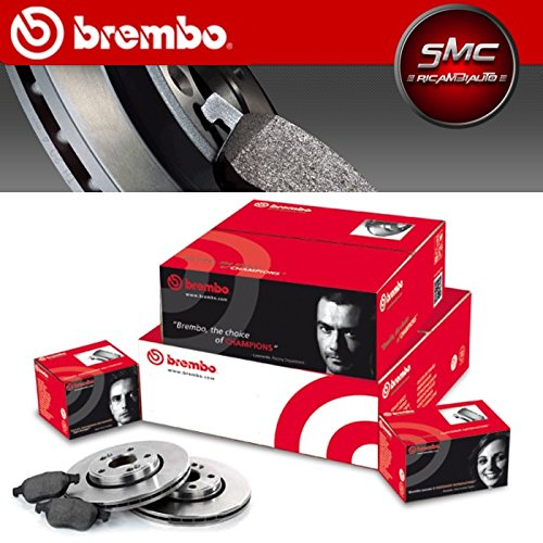 Kit Front Discs and Pads Original Brembo 09.A259.11  + P06036