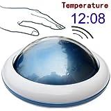 Zonman® UFO LED Digital Talking Temperature Alarm Clock Time (Blue)