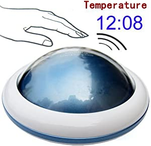 UFO LED Digital Talking Temperature Alarm Clock