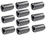 LampVPath 10PCS AA to C Size Battery Adapter Case, AA to C Size