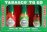 Tabasco Mini To Go Travel Hot Sauces (1 Pack)