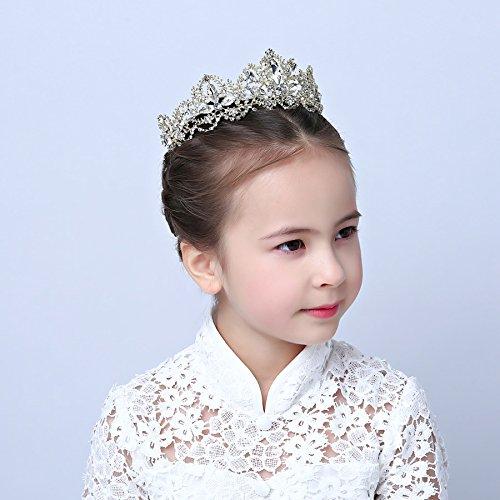 7ded0caa5d69 XPY DGX Accessori Per Capelli Da Sposa E Da Sposa Le ragazze di corona  ragazza con fascia di acconciatura di capelli hoop baby princess ornamenti  per ...