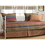 Greenland Home GL-0911CD Katy 5 Piece Daybed Set, Multicolor