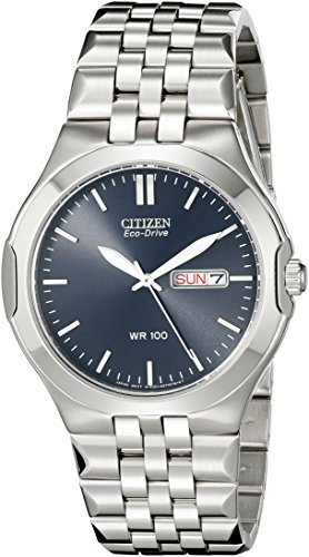 Tone Eco Two Bracelet Drive (Citizen Men's BM8400-50L Stainless Steel Eco-Drive Watch)