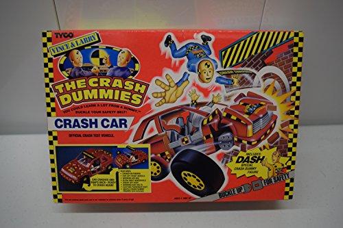 THE CRASH DUMMIES - CRASH CAR - with exclusive DASH action figure -