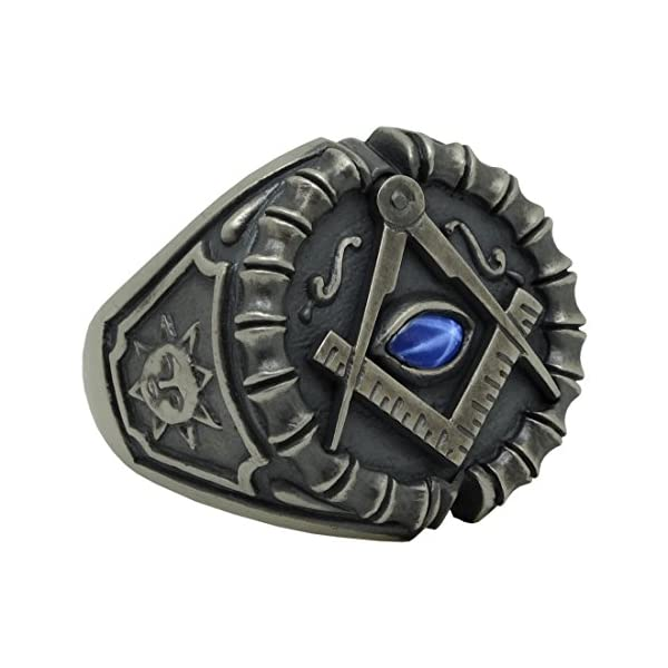 Masonic-Sterling-Silver-925-Blue-Sapphire-Custom-All-Seeing-Eye-Ring-antique-finish-KTR020