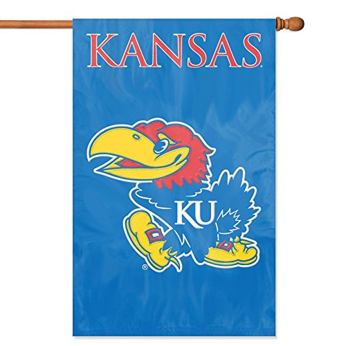 Party Animal Kansas Jayhawks Banner College Flag