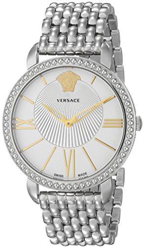 Versace Women's VQQ040015 New Krios Stainless Steel - New Versace