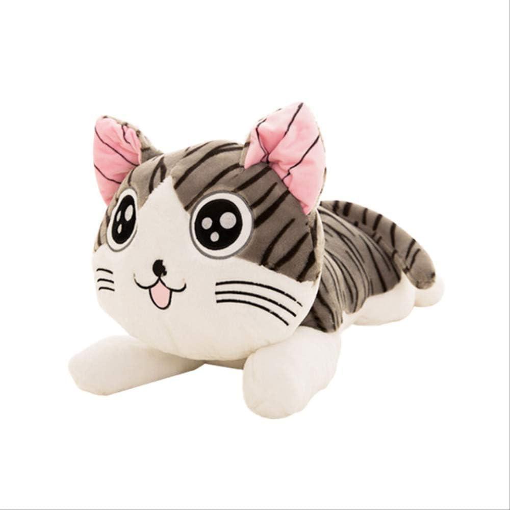 qwermz Peluche - 20cm para Regalo De Bebé Queso Gato One Piece Niños Regalos De Cumpleaños 2