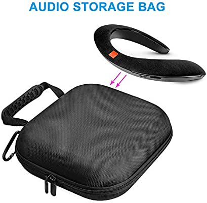 PerGrate - Funda de Nailon para Auriculares JBL E45BT E55BT Soundgear: Amazon.es: Hogar