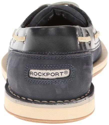 Rockport Hombres Perth Navy Cuero / Nubuck