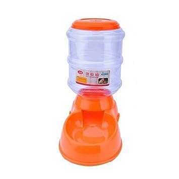 URIJK Dispensador Automático de Agua y Comida para Gatito Gato Perrito Perro Mascota Botella Alimentador Cuenco