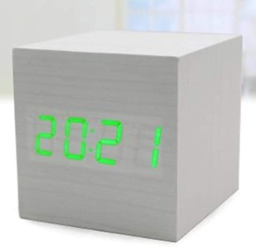 Mzbbn Despertadores Digitales Reloj Despertador Led Luminoso ...