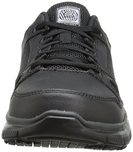 Shoes Leather Erath Ladies Skechers Resistant Track Sure Slip black Womens Bnn8q0f