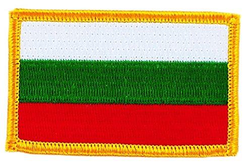 Toppa Ricamata Bandiera BULGARIA Bulgaro Flag thermocollant Backpack Akacha