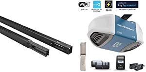 Chamberlain Group 8810Cb-P Chamberlain 8810Cb 10-Foot, Compatible Whisper Drive Plus Models, Include with B970 Smartphone-Controlled Ultra-Quiet & Strong Belt Drive Garage Door