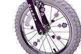 Pink & Purple Colourful Bike Wheel Spoke Beads Kids Fun Spokey Dokeys Clip On Set Of 25
