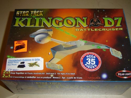 Lights Polar Snap (Polar Lights Star Trek Klingon D7 Battecrusier)