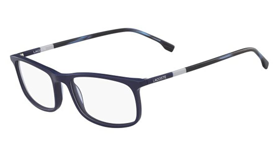 Eyeglasses LACOSTE L 2808 424 BLUE at Amazon Men\'s Clothing store: