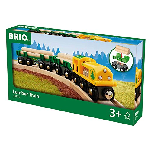 BRIO 33775 - Holz Transportzug, bunt