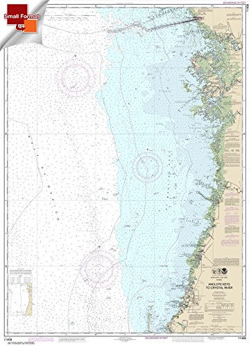 - Paradise Cay Publications NOAA Chart 11409: Anclote Keys to Crystal River 21.00 x 29.00 (SMALL FORMAT WATERPROOF)