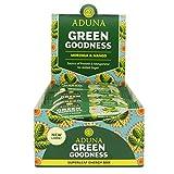 Aduna Green Goodness Superfood Energy Bar With Mango and Moringa Superleaf, 40g - (Pack of 16 Bars)