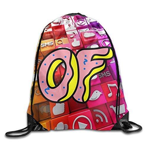 LALayton Odd Future Logo Practice For Drawstring Bag