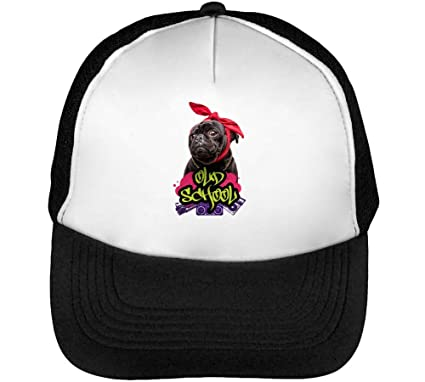 Old School Gangster Pug Hip Hop Style Gorras Hombre Snapback ...