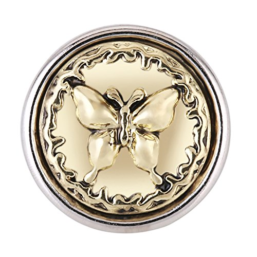 Morella ® pour petit click-button lot de 5 boutons pression pour chat coeur ø 12 mm et soleil
