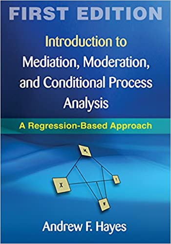 Introduction to Mediation, Moderation, and Conditional Process