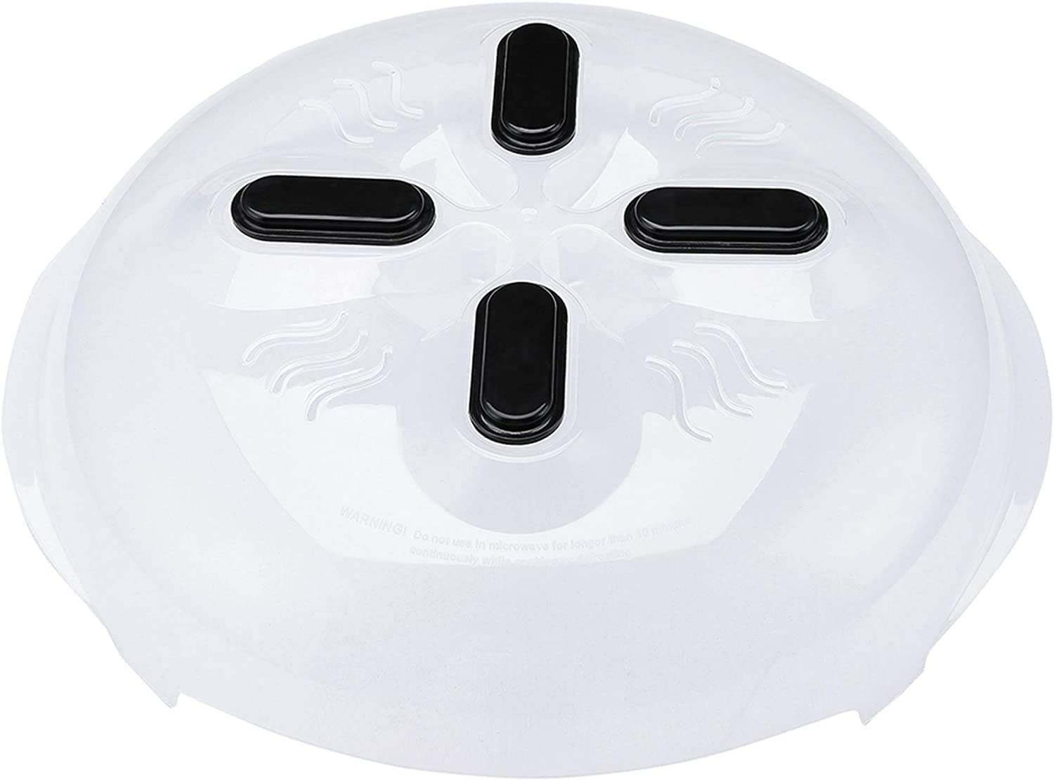 Magnetic Microwave Splatter Cover, Microwave Cover Hover Splatter Guard Lid with Steam Vent Adsorbed Function, BPA-FREE
