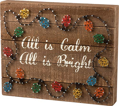 All is Bright 34089 String Art Primitives By Kathy