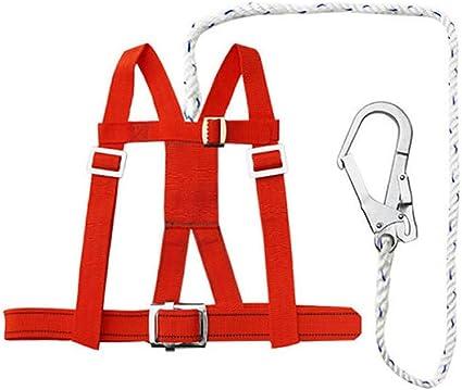 HJUN Arnés de Seguridad para la construcción Escalada Torre ...