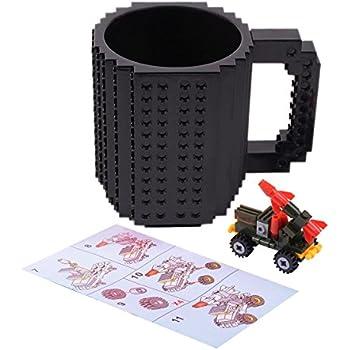 Amazon.com: FUBARBAR Build On Brick Mug - BPA-Free 12oz Blocks ...