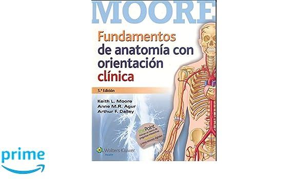 Fundamentos de anatomía con orientación clínica: Amazon.es: Keith L ...