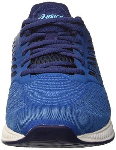 Asics Blu thunder Blue Blue indigo Blue indigo Uomo Scarpe Running Fuzex ZICqwrZ