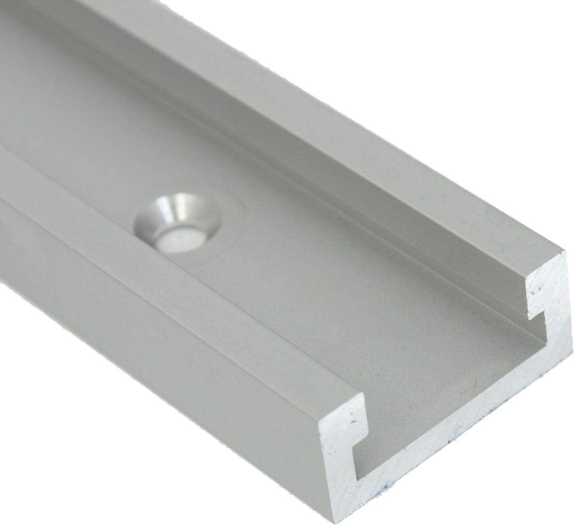 Ctghgyiki T-Tracks T-slot12 Inch 300mm Miter Track Jig Fixture Slot for Router Table Woodworking Tools