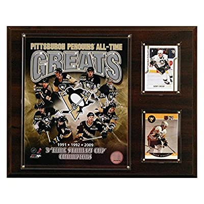 NHL Pittsburgh Penguins All-Time Greats Photo Plaque by C&I Collectables