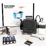 TECHO Touchless Toilet Flush Kit, Battery Operated, 8'' Sence Range, Toolless installation, Automatic Motion Sensor Toilet Flush Kit