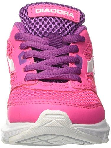 Diadora 101.171268, Zapatillas de Running Infantil Rosa (Button/Cockatoo)