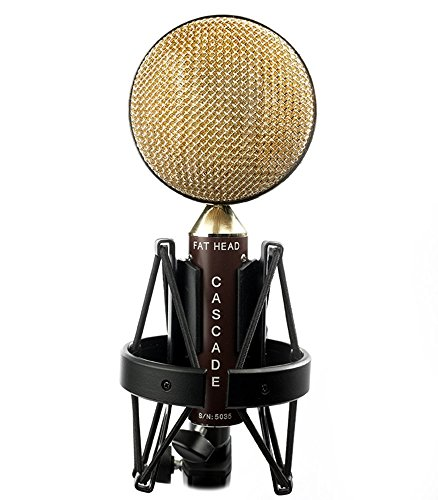 - Cascade Microphones FAT HEAD - Brown/Gold